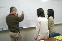 数学研究室の風景