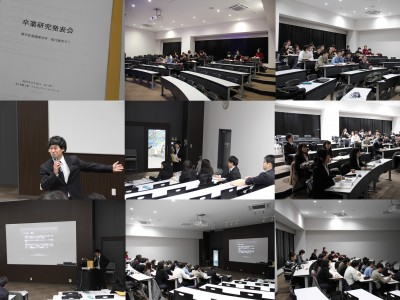 現代教育分野卒業研究発表会(2月)