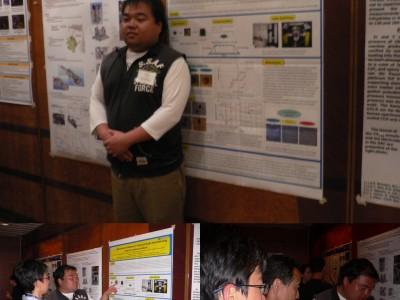 総合理学専攻の永野さんが国際会議で発表(4月)