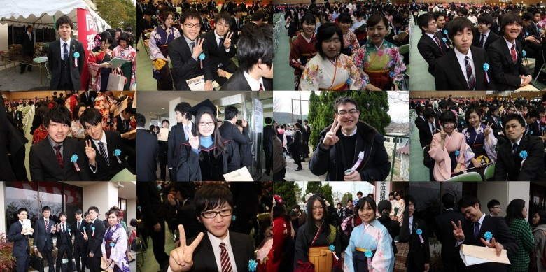 平成26年度学位授与式(3月)