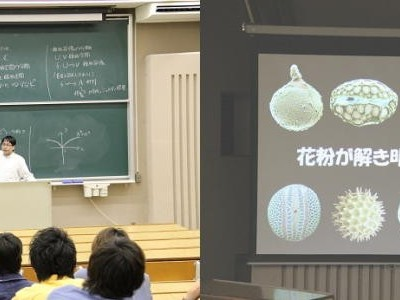 「環の表現」そして「花粉が解き明かす過去」(5月)