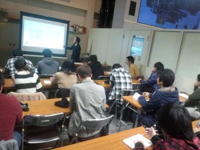 岡山県警交通管制センターで見学(11月)