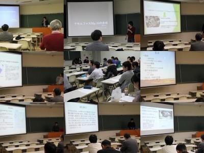 総合理学専攻M1生コロキウム『私の研究紹介』(12月)