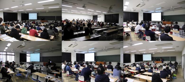 数学、情報、理科分野卒業研究発表会(2月)