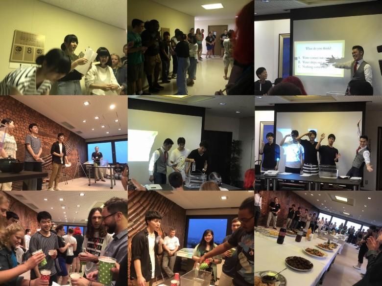 アメリカ・ブラジル学生訪日研修団と英語で交流(6月)