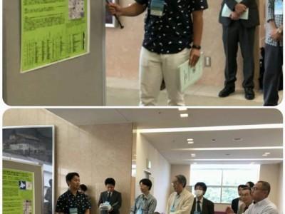 4年の酒井さんが学会発表(9月)