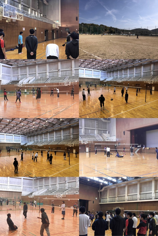 球技大会開催(11月)