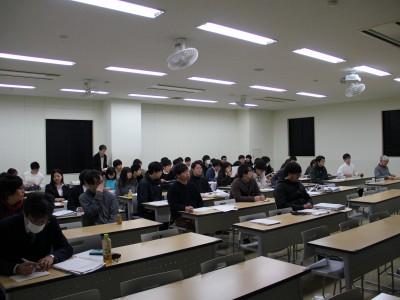 平成30年度基礎理学科卒業論文発表会(2月)