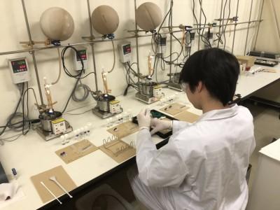 酸化重合実験 ~東村研究室紹介~