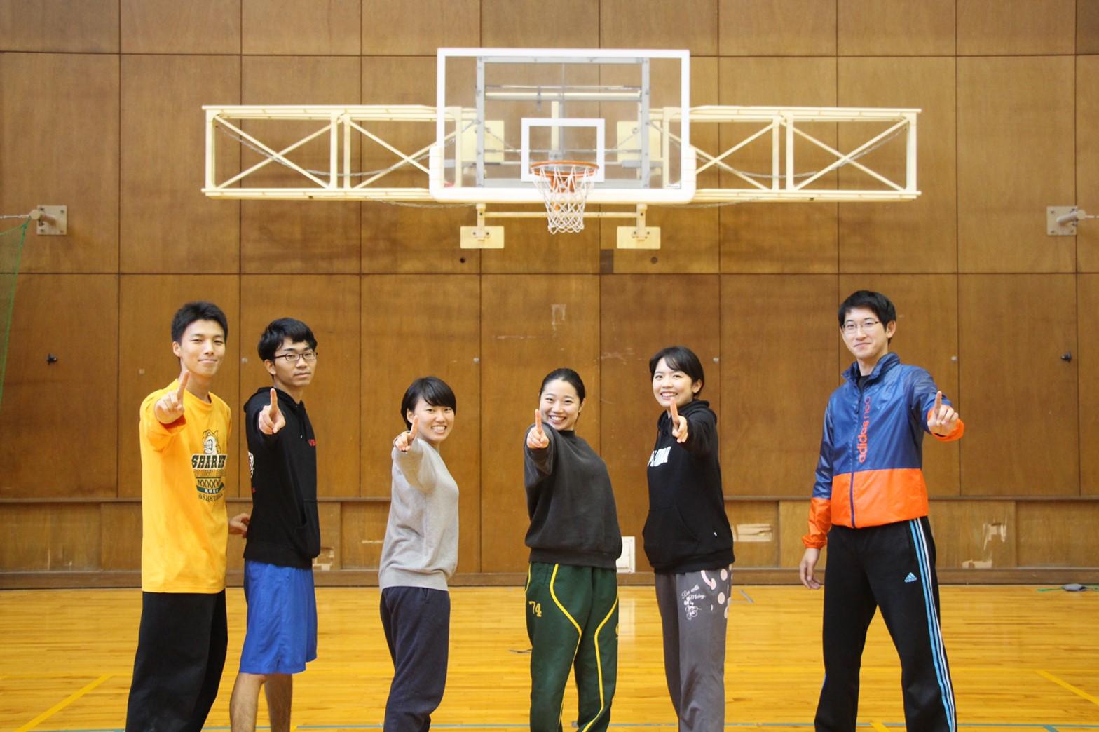 優勝した長渕・荒谷研究室合同チーム