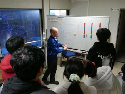 岡山県警交通管制センターでUTMS見学