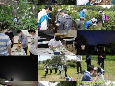 蒜山・足立において野外実践指導実習2を実施