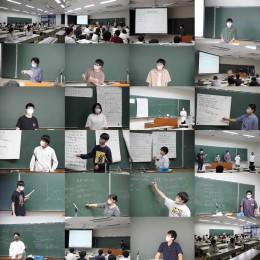 数学分野卒業研究中間発表会