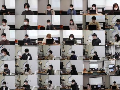 理科分野卒業研究中間発表会開催