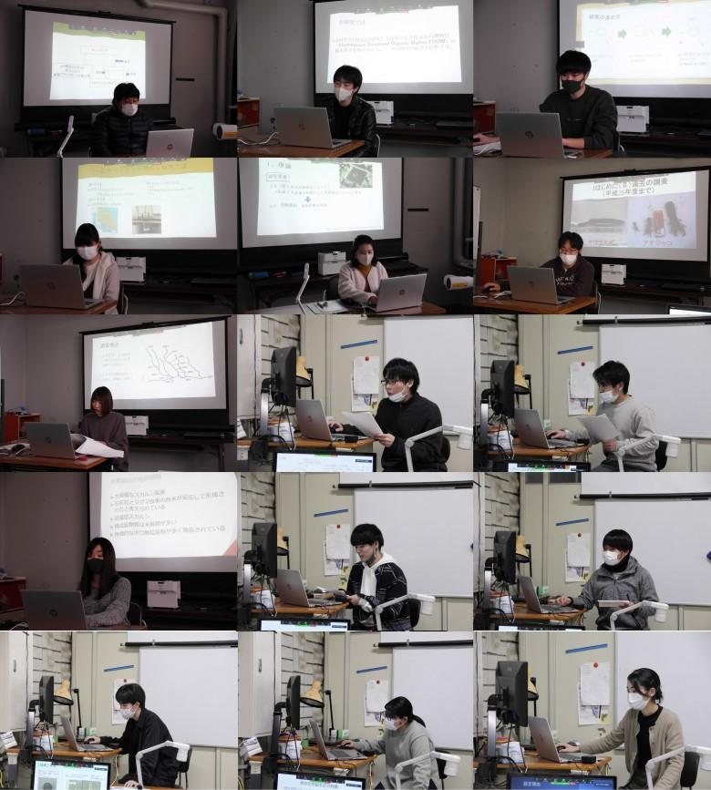 理科分野卒業研究中間発表会第二弾開催