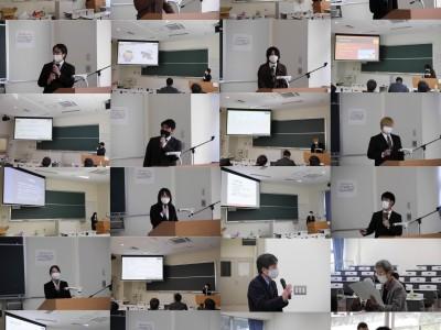 現代教育分野 卒業研究発表会開催
