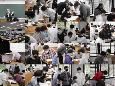 新入生学科オリエンテーション 2日目